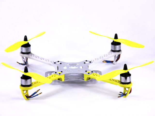 how to fly a quadcopter in a circle