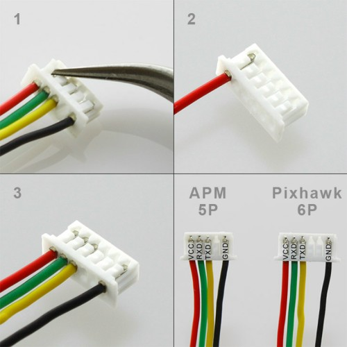 how to connect phantom 4 compass connector