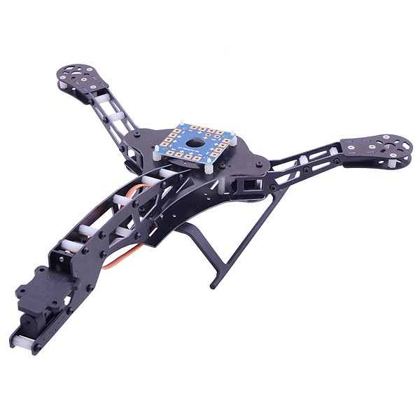 Y3 Tricopter / Three-axis Multicopter Frame - Gadgets Deal India