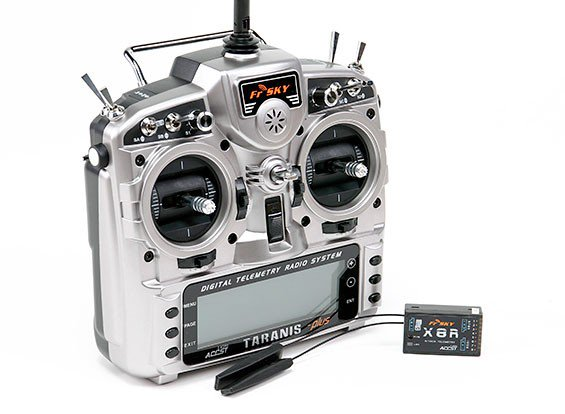 Original FrSky 2 4G 16CH ACCST Taranis X9D Plus and X8R Combo Digital  Telemetry Radio System in India