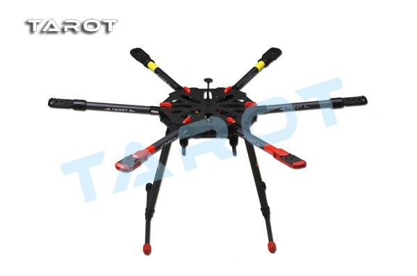 Tarot X6 960mm 6-Axis PCB Center Plate Folding Hexacopter Frame Kit in India