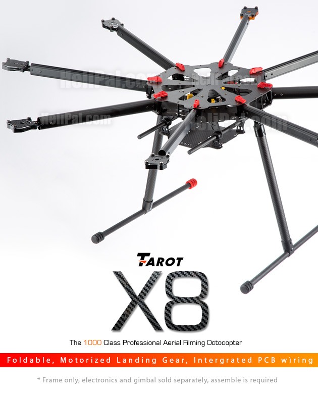 Tarot X8 Octocopter Frame TL8X000 in India - Gadgets Deal India